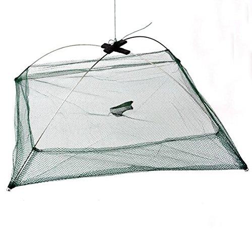 HANO Angeln Faltbare Mesh-s-Trap-Regenschirm Cast Dip Net Crab Garnelen -