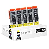 5 Cartuchos de tinta compatible con Epson T2621 (Negro)