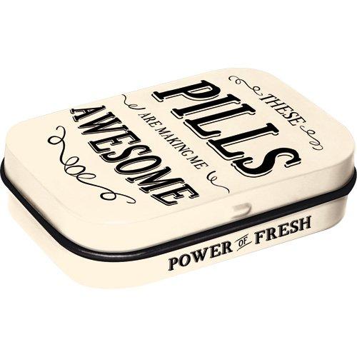 Preisvergleich Produktbild Nostalgic-Art 81361 Word Up - Awesome Pills,  Pillendose