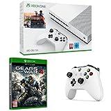 Xbox One - Pack Consola S 500 GB: Battlefield 1 + Gears Of War 4 + mando adicional