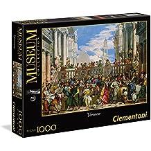 Clementoni 39391 - Puzzle 1000 Museum Le Nozze di Cana