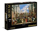 Clementoni - 39391 - Museum Collection Puzzle - Veronese, The Wedding at Cana - 1000 Pezzi