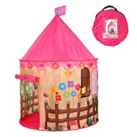 Georgie Porgy Kids Foldable Play House Portable Tent Castle Indoor Outdoor Toy Garden