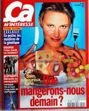 CA M'INTERESSE [No 214] du 01/12/1998