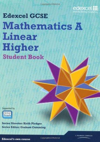 GCSE Mathematics Edexcel 2010: Spec A Higher Student Book (GCSE Maths Edexcel 2010)