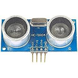 Ecloud Shop® Alcance ultrasónica del módulo HC-SR04 + Mejorado amplio rango de tensión de 3-5.5V sensores ultrasónicos
