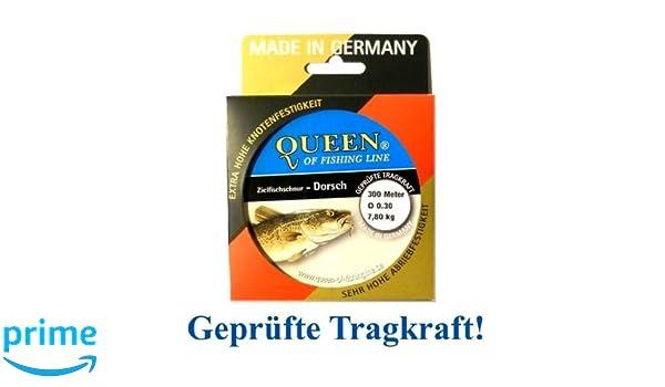 Zielfisch-Schnur Queen of Fishing Line Aal 0,30mm 7,8kg 300m
