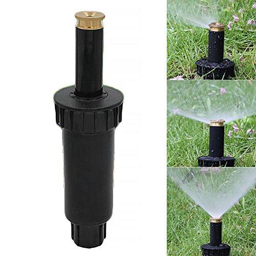 Sprühsprinkler, 90/180/360 Grad verstellbar, Pop-Up-Sprühdüse, automatisch, einziehbar, Bewässerungssystem, Rasen-Garten Bewässerungssystem