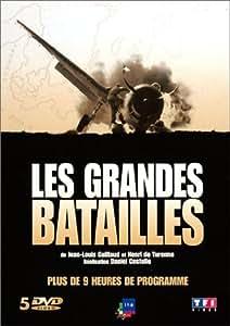 Les Grandes batailles : France (1939) / Angleterre (1940) / Italie (1943) / Normandie (1944) / Allemagne (1944) - Coffret 5 DVD