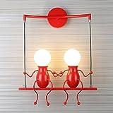 Lampada da parete E27 Applique da parete interni Design applique LED Lampada Applicazione di Spazio di Soggiorno, Sala da Pranzo, Studio, Camera da Letto, Corridoio