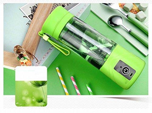 SED Automática de Seis Hojas Jugo de la Máquina Portátil Multi - Funcional Juicer Casa Cocina Máquina Mezcladora,Verde
