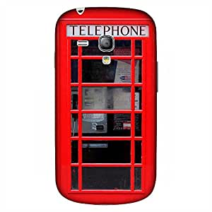 Mobo Monkey Designer Printed Back Case Cover for Samsung Galaxy S3 Mini I8190 :: Samsung I8190 Galaxy S III Mini :: Samsung I8190N Galaxy S III Mini (Retro :: Object :: Telephone Booth :: Vintage :: Police Box)