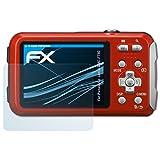 atFoliX Displayschutzfolie für Panasonic Lumix DMC-FT30 Schutzfolie - 3 x FX-Clear kristallklare Folie