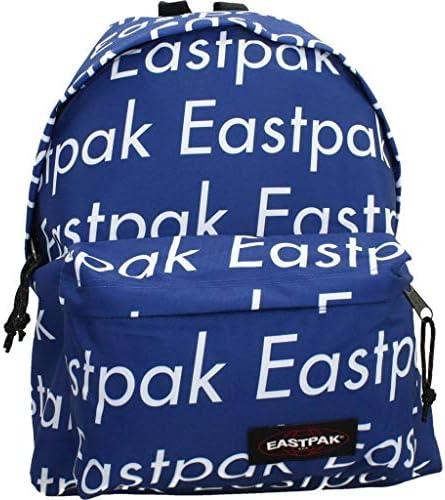Eastpak EK62050V Sac à Dos Polyester Bleu, Blanc - Sacs à Dos (Polyester, Bleu, Blanc, Motif, Unisexe, 300 mm, 180 mm) | Digne