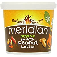 Meridian Org Smooth Peanut Butter 1000 g (order 6 for trade outer)