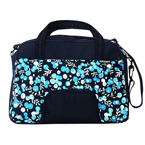 C-BAGS QUEEN BERRIES Gepäckträger Fahrradtasche verschiedene Muster navy-blueberry