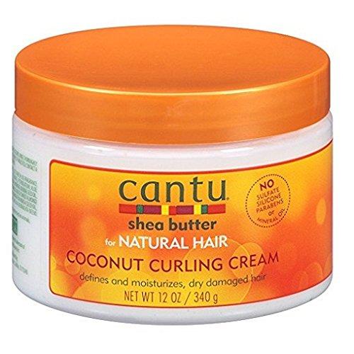 Cantu Natural Hair Coconut Curling Cream 12oz Jar by Cantu
