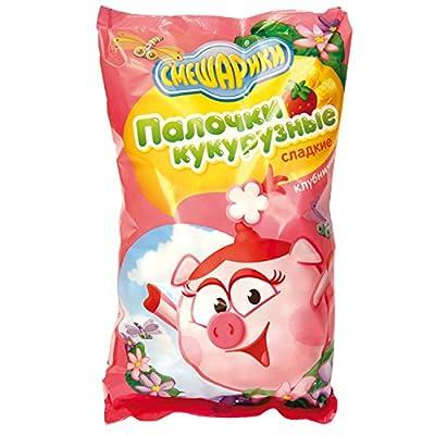 """Kukurusnie Palochki """"Smeschariki"""" mit Erdbeergeschmack"""