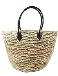 Eferri Capazo Grande Natural, Shopper para Mujer, Multicolor, 5x42x46 cm (W x