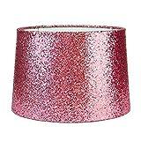 Sparkling Glitter Dual Zweck Lampenschirm hot pink