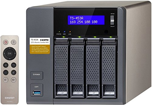 QNAP TS-453A-4G 4 Bay NAS Enclosure with 4GB RAM Test