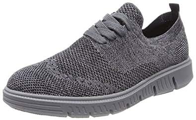 Josef Seibel Falko Knitted 13, Sneaker Uomo, Blu (Blau 500), 43 EU