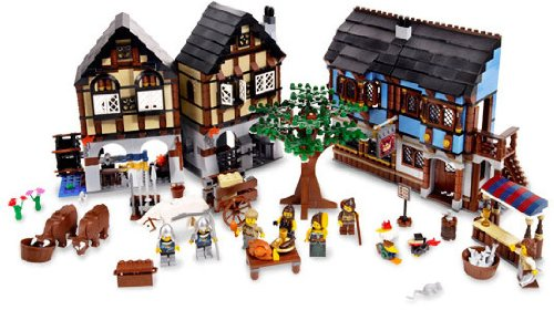 Lego-Castle-Medieval-Market-Village-10193