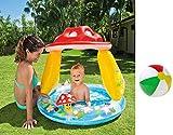 Aufblasbarer Aufstellpool Babypool Pool Planschbecken Kinderpool Kinderplanschbecken Schwimmbecken...