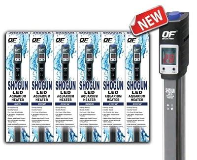 Ocean Free Shogun Led Digital Aquarium Fish Tank Heater Stat Submersible Thermostat