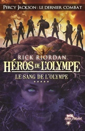 """<a href=""""/node/1854"""">LE SANG DE L'OLYMPE - Tome 5</a>"""