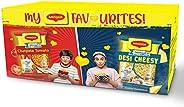 My MAGGI Favourites Box (Desi Cheesy Masala(6 Pack x 60.5g), Chatpata Tomato Masala(6 Pack x 60.5g))
