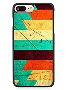 iPhone 7 Plus Cases & Covers - Multicolor Grunge - Pattern - Designer Printed Hard Cases with Premium Rubberized Edges