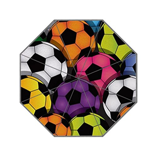 LiFei Business palline colorate Soccer Custom ombrello