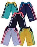 #3: Provalley presents Boys cotton Pack of 5 Capri pant's with different colors and Design.