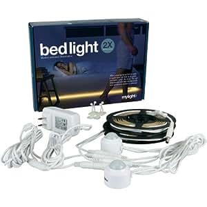 Bandeaux LED Bedlight, 2 capteurs 240 cm