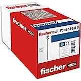 fischer 100 x spaanplaatschroef Power-Fast II 3,5X35, verzonken kop met kruiskop gedeeltelijke schroefdraad galvanisch verzin