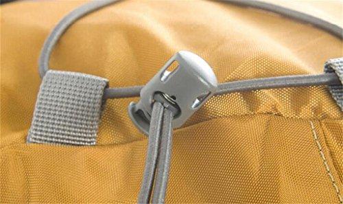 modelli maschili e femminili sacchetti esterni di alpinismo borsa da viaggio borsa a tracolla pacchetto di trekking professionale ( Colore : Yellowish Brown , dimensioni : 50+10L ) Blu