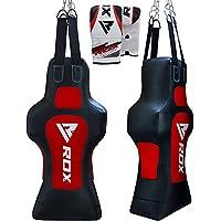 RDX Boxing Leather Bags Boxing Torso Dummy MMA Full Bag Terra Base Training