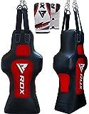 RDX Boxhandschuhe Leder MMA Boxen Rumpf-Attrappe volle Beutel Terra Base Training