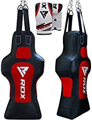 RDX MMA Uppercut Sacos De Boxeo Torso Maniquí Pad Cuerpo Bolsa Focus Ssaco Pesado Pared Kick Boxing Muay Thai