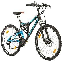 BIKE SPORT LIVE ACTIVE Bikesport PARALLAX Bicicleta De montaña Doble suspensión 26 ruedas Freno a disco