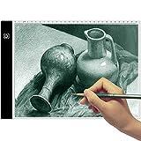 Mesa de Luz Dibujo A4 - TooTwo 3.5mm LED Tableta de Luz de Iluminación de la Caja de Alimentación Micro USB...