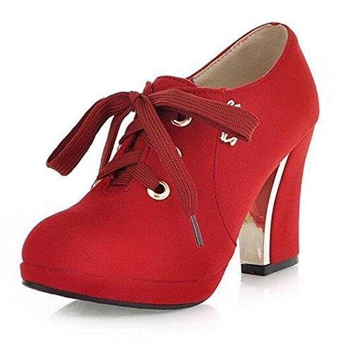 Aux femmes Stiletto Heel Mode Mid High Heel Fête Boîte de nuit Loisir Essentiel Bottines (Trois options de couleur)