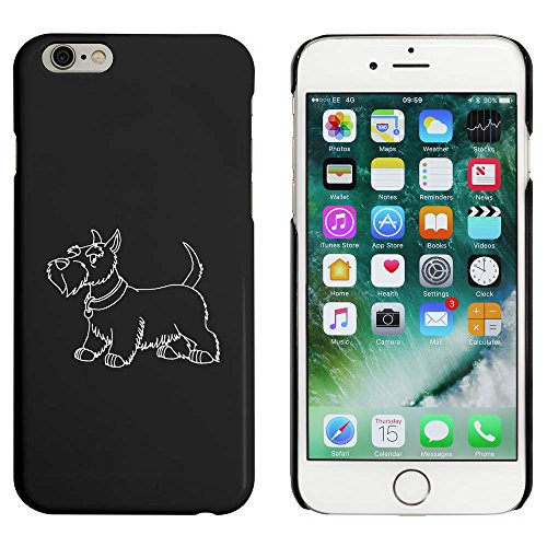 Azeeda Schwarz 'Scottish Terrier' Hülle für iPhone 6 u. 6s (MC00085306) -