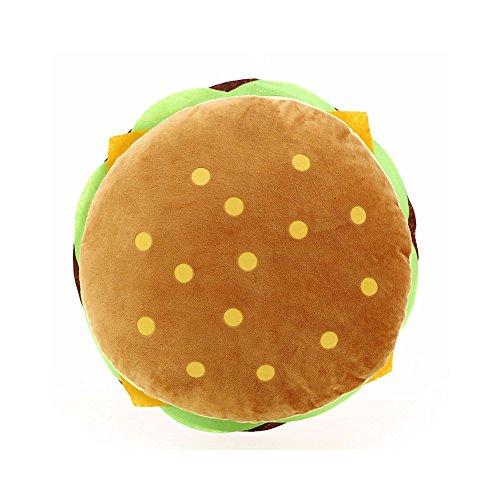 Dosige Kissen Simulation 3D Snack Burger Food Schlafkissen Modern Art Cotton Kissen für Home Decor Sofa Waschbar Throw Kissen 40cm * 40cm