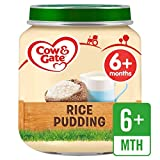 Cow & Gate Stage 1 Jar Rice Pudding 125g - Pack of 4