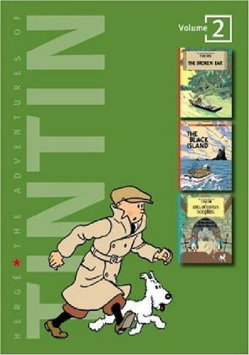 2: Adventures of Tintin 3 Complete Adventures in 1 Volume: WITH The Black Island AND King Ottokar's Sceptre: Broken Ear (Tintin Three-in-one)
