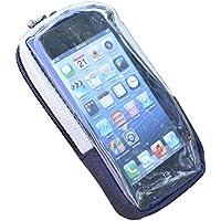 Filmer Amovible poche téléphone avec support pour vélo Gris/Noir
