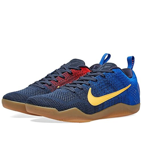 best website bb8a5 5299a Nike Men s Kobe XI Elite Low FCB Basketball Shoes, Azul (College  Navy University