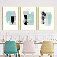 Tanyang Graffiti Noedic Fresh Whatecolor Wall Art Canvas Paintings Minimalist Wall Pictures Prints and Posters on Canvas Living Room Home Decor No Frame